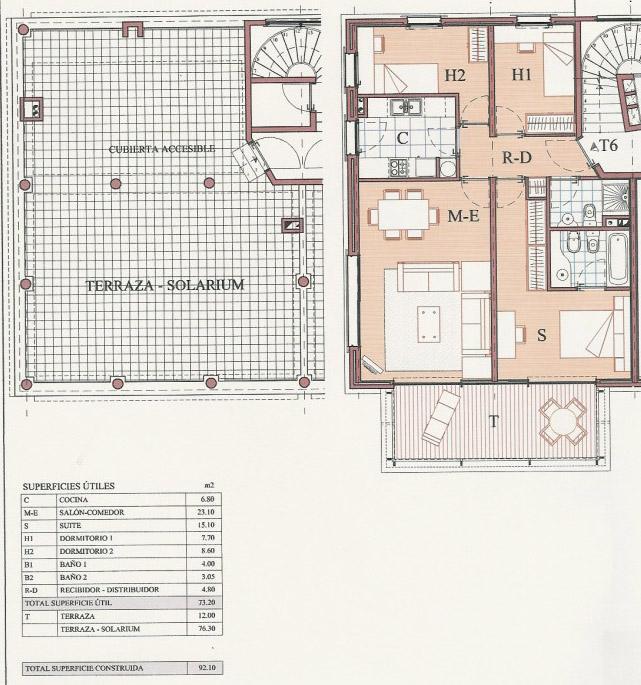 Apartamento En Venta De 90 M2 En Dublin En Ampolla, L